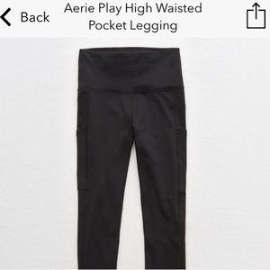 Aerie Play High Waisted Pocket Leggings